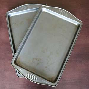 Picture of baking trays